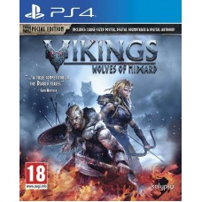 Игра для Playstation 4 Vikings: Wolves of Midgard русские субтитры