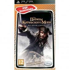 Disney Пираты Карибского Моря: На Краю Света русская версия для PSP