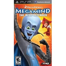 Мегамозг: Синий защитник русская версия для PSP