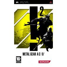 Metal Gear Ac!d 2 для PSP