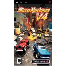 Micro Machines V4 для PSP
