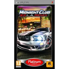 Игра для PSP Midnight Club: LA Remix
