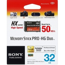 Карта памяти Sony Memory Stick PRO-HG Duo 32Gb