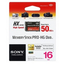 Карта памяти Sony Memory Stick PRO-HG Duo 16Gb