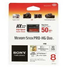 Карта памяти Sony Memory Stick PRO-HG Duo  8Gb