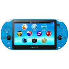 Sony PlayStation Vita Slim 2000 Wi-Fi Aqua Blue