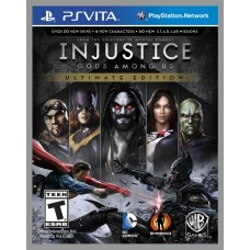 Injustice: Gods Among Us Ultimate Edition русские субтитры для PS Vita