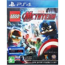 LEGO Marvel Мстители русские субтитры для PSVita