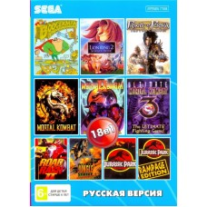 18in1 сборник игр для Sega (BS-18001)