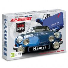 """Игровая приставка """"Hamy 4"""" (350 игр) Gran Turismo синяя"""