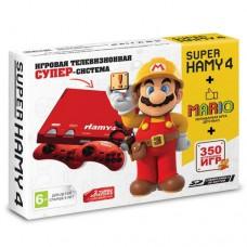 """Игровая приставка """"Hamy 4"""" (350 игр) Mario красная"""