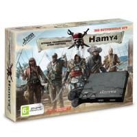 """Игровая приставка """"Hamy 4"""" (350 игр) Assassin Creed черная"""