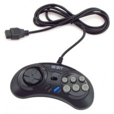 Sega Controller Turbo  Black 1. 5 М