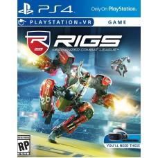 Игра для PlayStation VR RIGS Mechanized Combat League русская версия