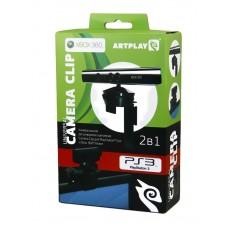 Держатель Camera Clip 2 в 1 для сенсора Kinect Xbox360 и Камеры PS3