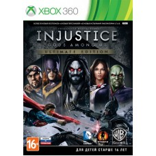 Injustice: Gods Among Us Ultimate Edition русские субтитры для Xbox 360