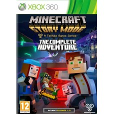 Minecraft Story Mode The Complete Adventure русская версия для Xbox 360