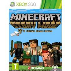 Minecraft Story Mode русская версия для Xbox 360