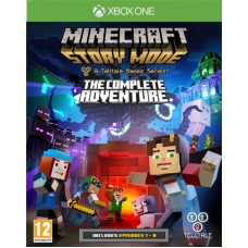 Minecraft Story Mode The Complete Adventure русская версия для Xbox One