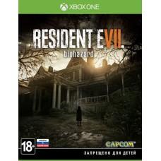 Resident Evil 7 biohazard русские субтитры для Xbox One
