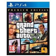 Игра для PlayStation 4 Grand Theft Auto V. Premium Edition, русские субтитры