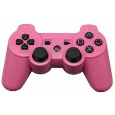 Джойстик беспроводной для PS3, розовый