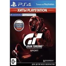 Gran Turismo Sport русская версия для PS4