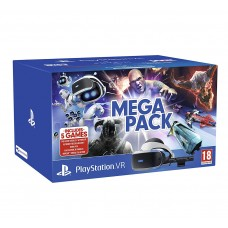 Sony PlayStation VR Mega Pack шлем виртуальной реальности (CUH-ZVR2) + PS Camera + 5 игр