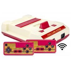 Retro Genesis 8 Bit Classic + 300 игр  (2 беспроводных аккумуляторных джойстика)