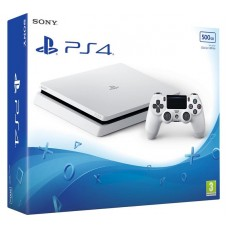 Sony PlayStation 4 Slim 500 ГБ  Белая CUH-2216A
