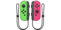 Набор 2 Контроллера Joy-Con (неоновый зеленый / неоновый розовый)