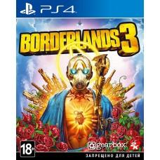 Borderlands 3 русские субтитры для PS4