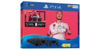 Sony PlayStation 4 Slim 1 Tb  Black + Controller + Fifa 20  CUH-2216B