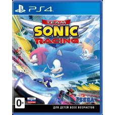 Team Sonic Racing русские субтитры для PS4