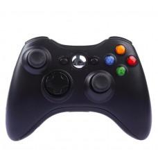 Джойстик беспроводной для Xbox 360 чёрный