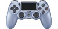 Джойстик Dualshock 4, V2 , Titanium Blue (Титановый голубой) для Playstation 4
