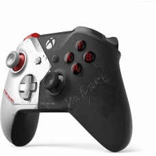 Microsoft Xbox One Wireless Controller Cyberpunk limited edition, black and silver (WL3-00142)