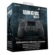 Джойстик Dualshock 4, V2 The Last Of Us: Part II беспроводной для PS4 (черный, матовое покрытие) (CUH-ZCT2E)