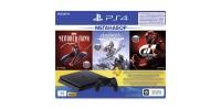 Sony PlayStation Slim 1TB Black (CUH-2208B) + Gran Turismo Sport + Horizon Zero Dawn + Marvel Человек Паук + PS Plus 3 месяца