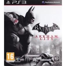 Batman: Arkham City русские субтитры для PS3