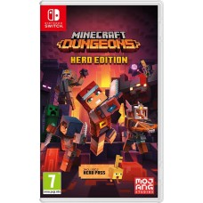 Игра для Nintendo Switch Minecraft Dungeons Hero Edition русская версия