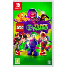 LEGO DC Super-Villains русские субтитры для Nintendo Switch