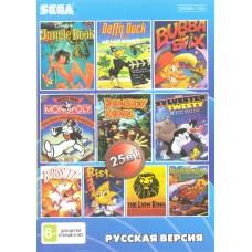 25in1 сборник игр для Sega (BS-25001)