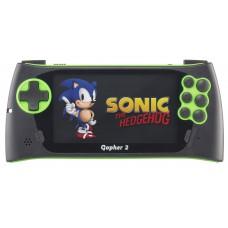 """SEGA Genesis Gopher 2 LCD 4.3"""" +700 игр зеленая"""