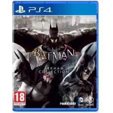 Batman: Arkham Collection русские субтитры для PS4