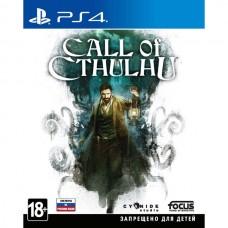 Call of Cthulhu русские субтитры для PS4
