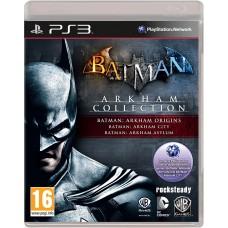 Batman Arkham Trilogy русские субтитры для PS3