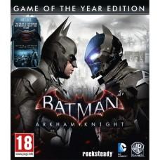 Batman: Рыцарь Аркхема Издание Игра Года русские субтитры для PS4