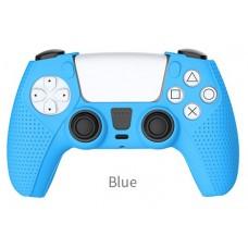 Силиконовый чехол для контроллера DualSense Синий TP5-0541 DOBE