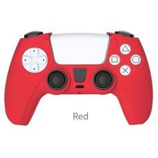 Силиконовый чехол для контроллера DualSense Красный TP5-0541 DOBE
